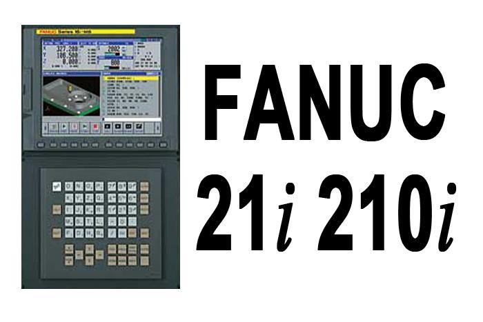Fanuc 21i 210i CNC Controls