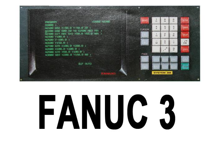 Fanuc 3 3M 3T 3TF CNC System